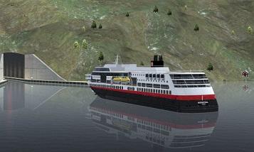 Норвегия построит первый в мире тоннель для кораблей