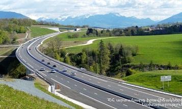 На межгосударственной дороге Армения-Иран проводятся ремонтные работы