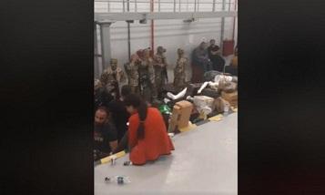 На таможенном пункте «Баграташен» напряженная ситуация: пятый день торговцев держат в ангаре
