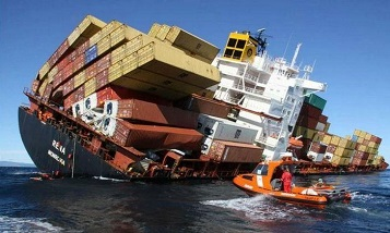 Tiny fraction of containers lost at sea